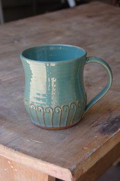Slip texture  Etsy listing at https://www.etsy.com/listing/191005408/coffee-cup-16oz450ml-mug-handmade