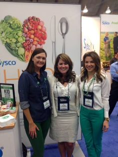 Us in the Sysco booth at #NACUFS!