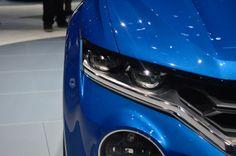 Volkswagen's T-ROC concept SUV, at the Geneva Motor Show