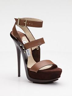 Halley Platform Sandals, Jimmy Choo