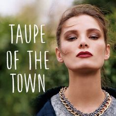taupe of the town / topshop