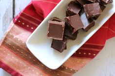 This totally easy & super delicious Vegan Fudge Recipe is perfect for vegans and people allergic to dairy! I love fudge!  However, because I'm allergic to dairy I though most fudge was out of the question..until now.  I've come up with a delicious vegan (& so it's dairy free) fudge recipe that is sure to please everyone.  This fudge is made without sweetened condensed milk...which has become pretty standard in the majority of fudge recipes these days. Enjoy the simple plea...
