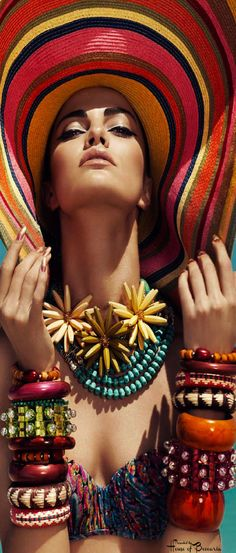 ~Barbara Fialho Harpers Bazaar Mexico July 2013 | House of Beccaria