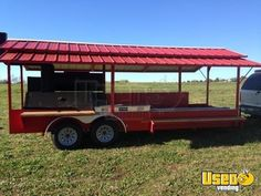 2019 x Open Rotisserie Smoker Trailer/Never Used Tailgating BBQ Trailer for Sale in Alabama! Bbq Trailer For Sale, Trailers For Sale, Concession Trailer, Food Trailer, Rotisserie Smoker, Outdoor Pizza Oven Kits, Bbq Smoker Trailer, Custom Bbq Pits, Grilling Ideas