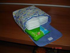 porta fraldas de tecido - Pesquisa Google
