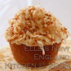Elle's New England Kitchen - Elle's New England Kitchen - Bananas Foster Cupcakes, fit for a RoyalJoust