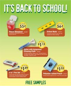 IT'S BACK TO SCHOOL!