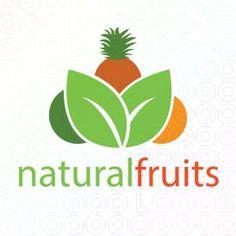 Exclusive Customizable Logo For Sale: natural fruits   StockLogos.com