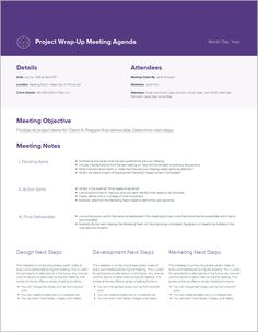 Meeting Agenda Template Free Free Pretty Printable Meeting Agenda Templates  Pinterest  Notes .