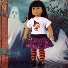 Image result for halloween doll clothes t shirt