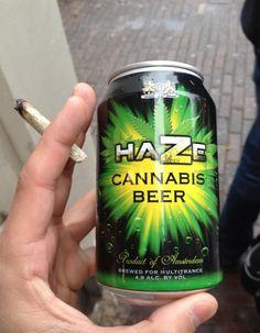 Haze Cannabis Beer ~ #washingtonweed #Washingtonmarijuana