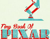 Pixar Typography Booklet by Rachel Krueger, via Behance