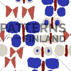Päiväperho by Maria Tolvanen  #patternsfromagency #patternsfromfinland #pattern #patterndesign #surfacedesign #printdesign #mariatolvanen