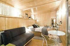 Petite maison éco-durable de 15 mètres carrés