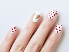 Check out these #ValentinesDay #manicures from @goodhousemag.