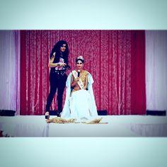 #whitagram #model #modeling #modellife #bollywood #edisonhotel #meenabazaar #mua #makeup by @shikhabhaimia #sittingonstage #ramp #runway #mic #talking #crown #sash #amazing #appearance #tv #filmed #nj #bun #desi #designeroutfit #title