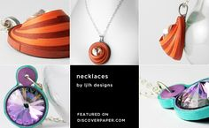 necklaces by ljlh designs / featured on discoverpaper.com