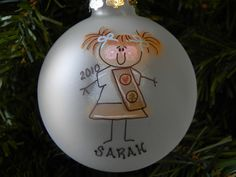 Brownie ornament - this would be cute to make for the girls as a gift.