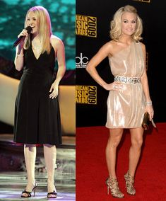This is my fitness inspiration for the next 2 months. When we first met the lovely Carrie Underwood on American Idol, as you can see from the photo on the left, she was already slim and beautiful. But five years Fitness Goals, Fitness Tips, Fitness Motivation, Fitness Logo, Gym Fitness, Health Fitness, American Idol, Body Inspiration, Fitness Inspiration