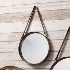 Gallery Direct Marsden Set of 2 Mirrors with Leather Strap – Next Day Delivery Gallery Direct Marsden Set of 2 Mirrors with Leather Strap from WorldStores: Everything For The Home
