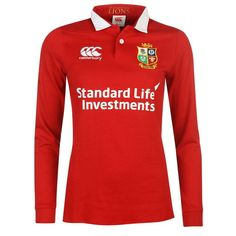 Canterbury | Canterbury Lions Classic Rugby Jersey 2017 | Ladies Rugby Replica Shirts