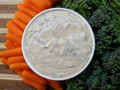 "Eva's Raw Vegan ""Better Than Ranch"" Dressing. This healthy recipe looks zesty."
