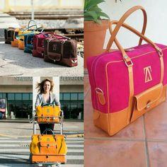Travel the world with ABRAHAM ZAMBRANA handmade travel bags