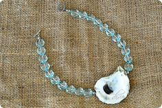 Oyster Shell Necklaces {Giveaway}