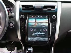 """10.4"""" Tesla-style Vertical Screen Android Navigation Radio for Nissan Altima Teana 2013 - 2017"""