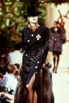 Yves Saint Laurent | Fall 1988