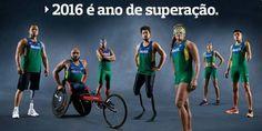 Atletas paralímpicos brilham em campanha da Braskem: '2016 é ano de superação'