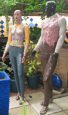 Mosaic Mannequins by Shona Folwer\\n\\n25/07/2013 9:15 PM