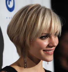 Image detail for -... short layered bob hairstyle is a classic, inverted, angle, stacked Bob