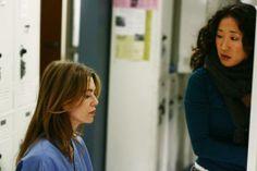Grey's Anatomy Alex and Cristina | Grey's Anatomy - Die jungen Ärzte - Haben einen schweren Tag hinter ...