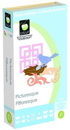 Cricut Picturesque Cartridge 2001893 #ProvoCraftCricut