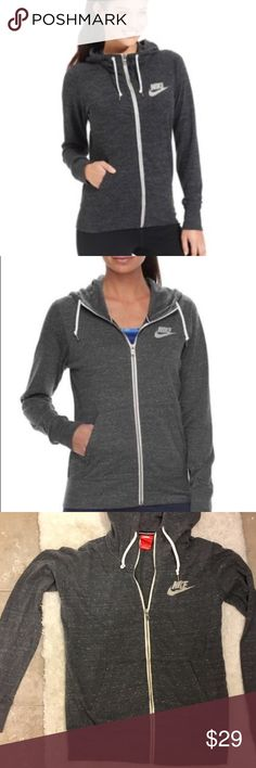 Nike hoodie. Size L. Perfect hoodie, just happens to be too big for me. Size L. Lightweight cotton. Nike Tops Sweatshirts & Hoodies