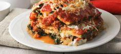 Quinoa-Zucchini Lasagna #MeatlessMonday