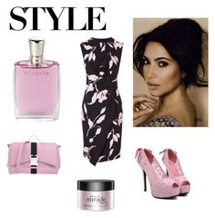 """""""Pink miracle"""" by e-mina-87 ❤ liked on Polyvore featuring Lancôme, Christopher Kane, ESCADA and philosophy"""