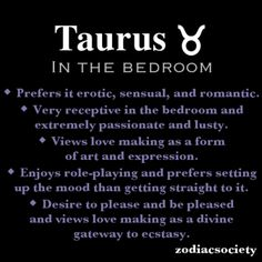 Never tried the role-playing thing..but not saying I wouldn't...regardless, taurus get it right every single time ;) ... bow chikka bow