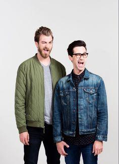 New pics of Rhett and link!