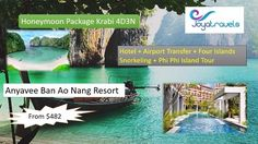 4D 3N honey package to KrabiFour island snorkelling and Phi Phi Island…