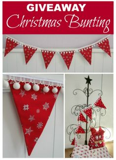 GIVEAWAY: Win Christmas Bunting Giveaway ENDS 15/11/13 at 9am (Adelaide time).  Last chance to enter! #Christmas #Giveaway