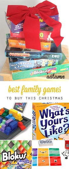 20 best family games to buy for Christmas this year - great gift ideas! for kids and adults