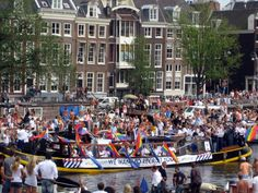 Amsterdam Canal Pride Amsterdam Canals, Netherlands, Pride, Holland, The Netherlands, Gay Pride