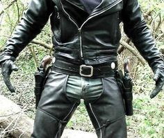 gloves, guns, cigars and of course Leather
