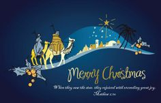"""Free Download Free Christmas Wallpaper for your PC or Mac """"When they saw the Star . . .""""  - Mathew 2-10"""