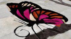 A Custom Butterfly Rug
