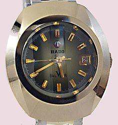Rado アンティーク超鋼ラドーバルボア日付腕時計婦人用使用品 Watch Antique ¥7000yen 〆05月21日