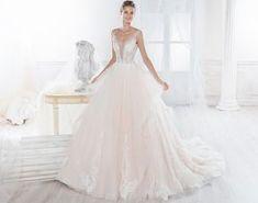 Moda sposa 2018 - Collezione NICOLE. NIAB18079. Abito da sposa Nicole.