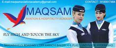 MAQSAM: MAQSAMAVIATION & HOSPITALITY ACADEMY      The avia...